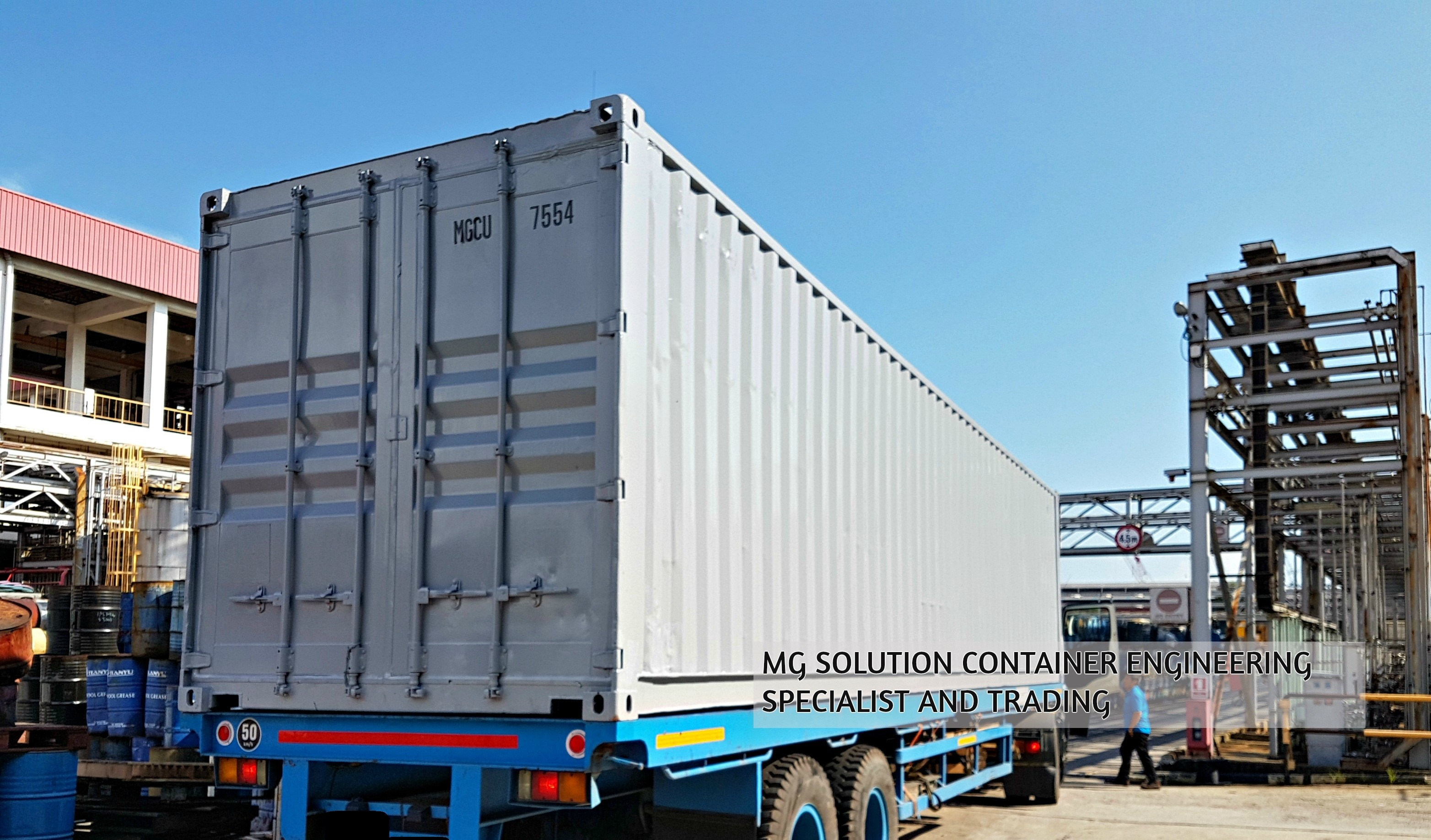 40ft GP Container.