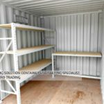 10ft GP Shelving Container (Customized)