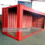 20ft Furniture Display Container