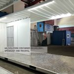 20ft Turnstile Guardhouse Container
