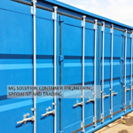 40ft Container customized with Multiple Container Doors