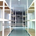 40ft GP Shelving Container