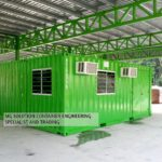 20ft Office Co-joined Container