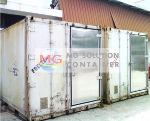 MG Solution _ 20ft Reefer Additional Coldroom Door Container (18)