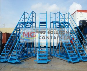 MG Solution _ Customized Steel Stairway