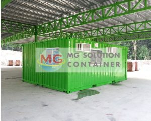 MG Solution _ Joined Office Container