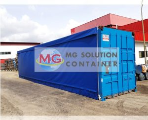 MG Solution _ 40ft Canvas Container (ref10)