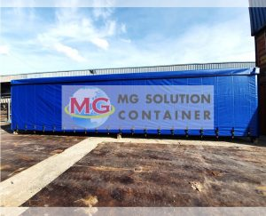 MG Solution _ 40ft Canvas Container (ref8)