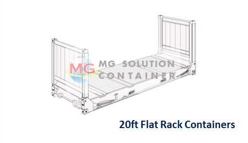 20ft Flat Rack Container