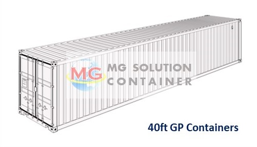 40ft GP Container